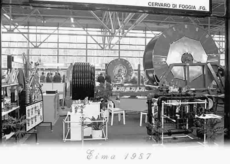 Storia Berardi Foggia Eima 1987