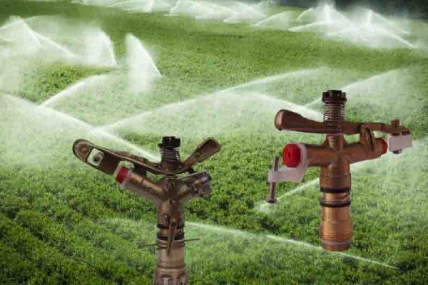 Irrigatori ottone a battente